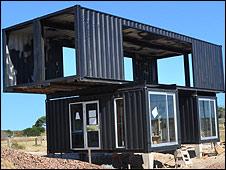 Vivir a usted dentro de un contenedor - Como hacer una casa con un contenedor maritimo ...